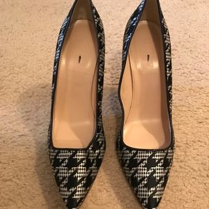 J. Crew Shoes - J.CREW ROXIE PRINTED PUMPS SIZE 7,5M HOUNDSTOOTH